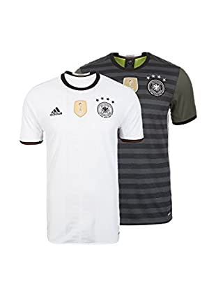 adidas Pack x 2 Camisetas Manga Corta DFB Home/Away EM Frankreich 2016