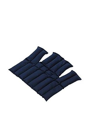 Sissel Cuscino Termico Sissel® Linum 37,5X36/37 Cm, Blu Blu