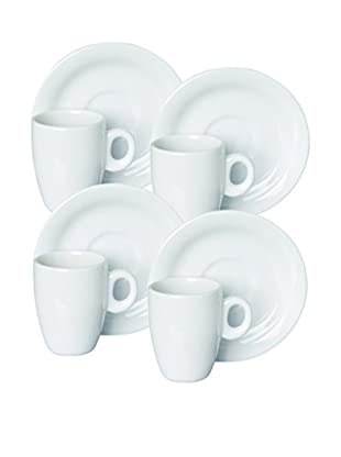 Set, 4 Kaffeetassen C/P Slim