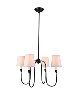 Urban Lights Lancaster 4-Light Pendant Lamp, Bronze