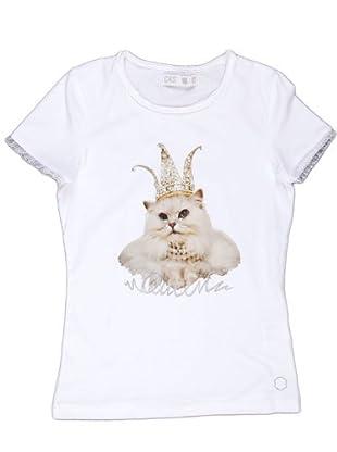 Naf Naf Chevignon Camiseta Puntilla (blanco)