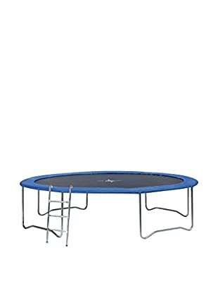 High Power Trampolino Outdoor 183 Cm Nero/Blu