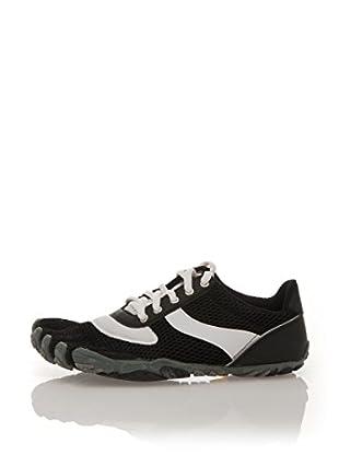 Vibram Fivefingers Zapatillas W368 Speed (Negro / Blanco)