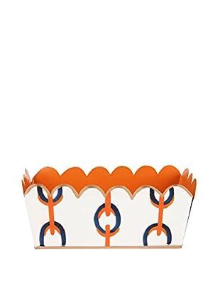 Jayes Chains Desk Caddy, Orange