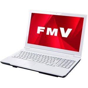 富士通 ノートパソコン FMV AH45/K(Office Home and Business 2013搭載) FMVA45KW