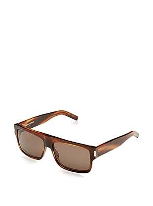 Yves Saint Laurent Sonnenbrille SL 56_W18-58 (58 mm) holz