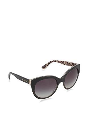 Dolce & Gabbana Sonnenbrille 4259 28578G (56 mm) schwarz/leopard