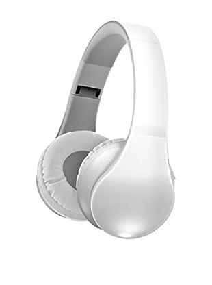 Sharper Image Wireless Bluetooth Folding Stereo Headphones, White