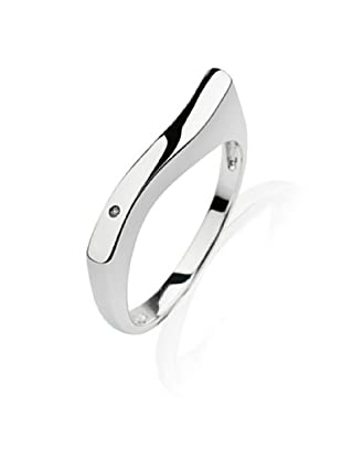 Secret Diamonds 60250023 - Anillo de mujer de plata de ley con 1 Diamante (talla: 14)