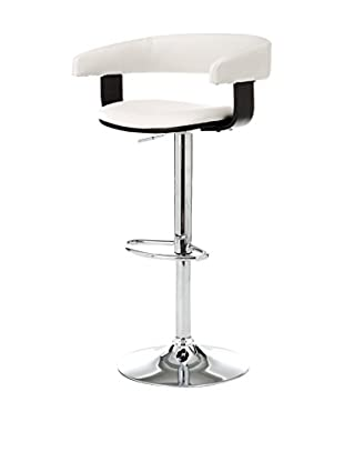 Contemporary Living Taburete de bar Casting Blanco