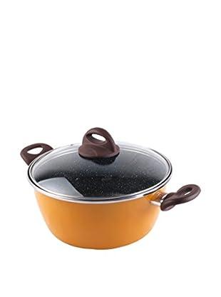 Bergner Cacerola Con Tapa BGIB-3083 24 cm Naranja