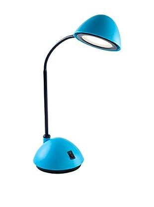 Lavish Home Bright Energy Saving LED Desk Lamp (Blue)