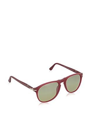 Persol Gafas de Sol 9649S 902183 (52 mm) Granate