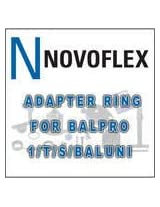 Novoflex Adapter Ring for Using Baluni Type Lens Mounting Rings with Balpro 1 &amp T/S Bellows