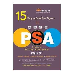15 Sample Question Papers for CBSE PSA Class 9th