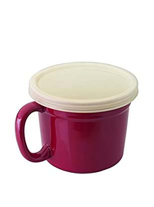 BergHOFF Geminis 2-Piece Covered Cup Set, Red