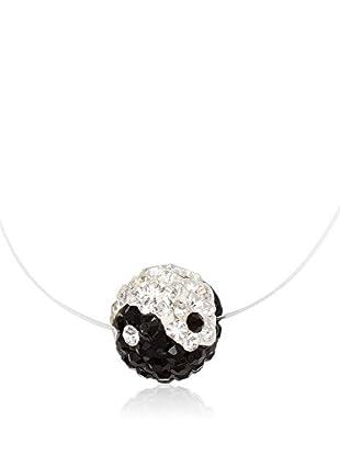 Chicstyle Halskette transparent/schwarz
