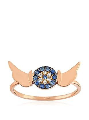 Divas Diamond Anillo Angel Wing Good Luck Eye