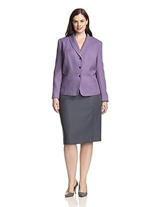 Tahari by ASL Plus Women's Anabel Skirt Suit