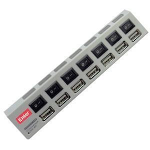 Enter E-HP80 7 Port USB Hub with Power
