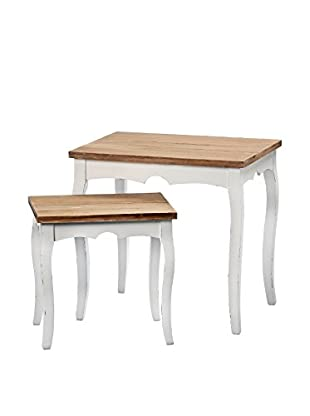 Boltze Tisch 2 tlg. Set Aileen