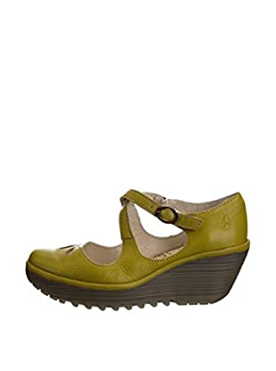 Fly London Zapatos Yate (Verde Pistacho)