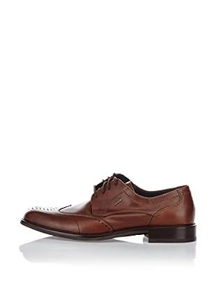 Fretz Men Zapatos Derby Genf (Marrón)