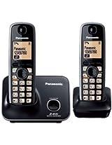 Panasonic KXTG-3712 Cordless Phone (Black)
