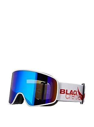 Black Crevice Skibrille Planai weiß/rot