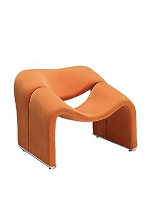 Modway Cusp Lounge Chair (Orange)