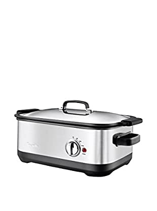 Breville Stainless-Steel 7-Qt. Slow Cooker with EasySear Insert