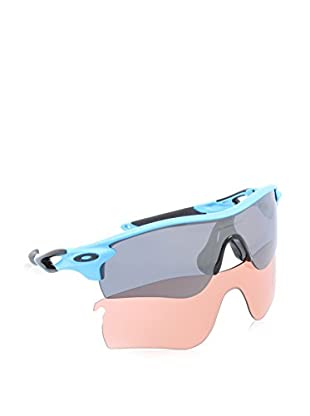 Oakley Occhiali da sole Polarized Mod. 9181 918107 (38 mm) Blu