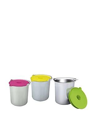 H.koenig Eiscreme Behälter BO318 für HF180 silber