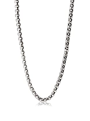 STEELTIME Stainless Steel Box Chain Necklace