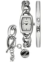 DKNY Analog Silver Dial Women's Watch - NY4853