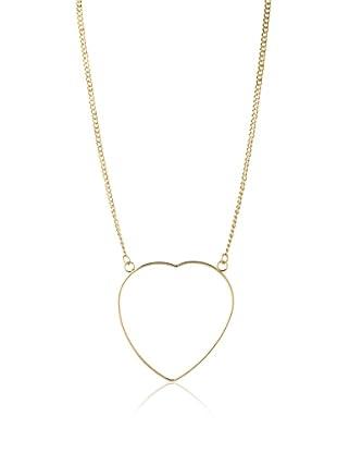 Jules Smith I Heart Malibu Necklace, Gold