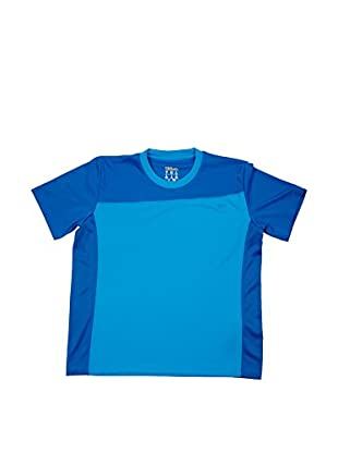 Wilson T-Shirt B Rush Colorblock Crew Nw Bl/Plg