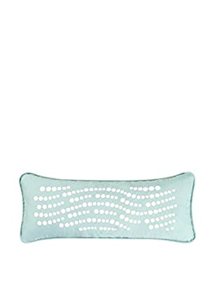 Jacobean Embroidered Dot Lumbar Pillow, Multi