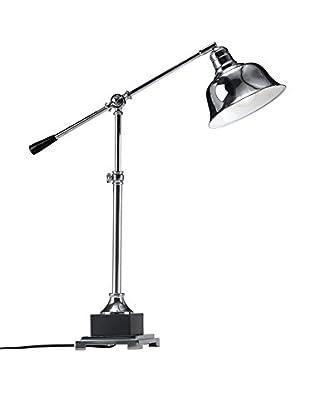 Zuo Flip Table Lamp, Chrome