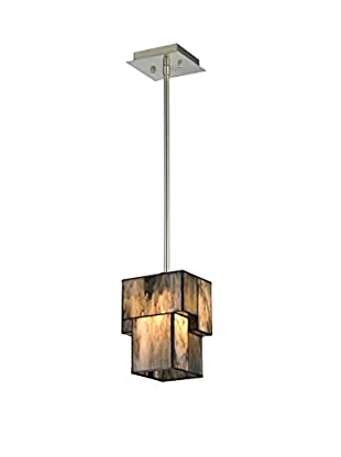 Artistic Lighting 1-Light Pendant, Brushed Nickel