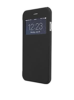 UNOTEC Funda Flip-S iPhone 7 Plus Negro