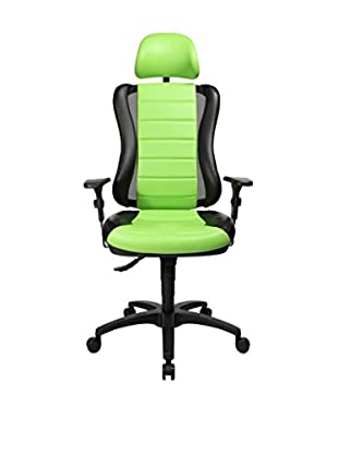 Topstar Silla De Dirección Head Point (Negro / Verde)