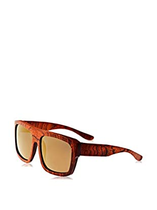 Earth Wood Sunglasses Sonnenbrille Wood Hermosa (57 mm) dunkelrot