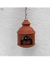 Terracotta Hanging Lamp - Round