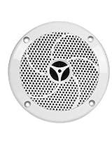 Monoprice 108555 UV Resistant 6-1/2 Inch 2-Way Marine Speaker - Set of 2