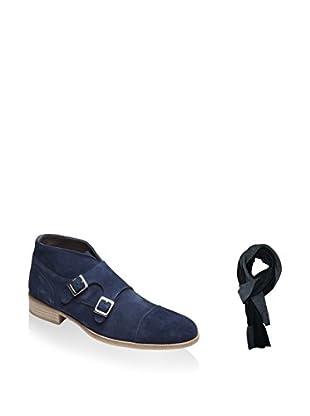 Ortiz & Reed Zapatos monkstrap + Bufanda SET-ZDS10-BU19