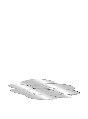 Mercana Décor Echo Mirror, Silver