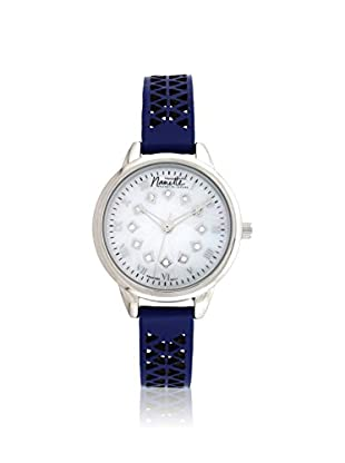 Nanette Lepore Women's 80702 Blue/Mother of Pearl Alloy Watch