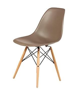Stilnovo Mid-Century Eiffel Dining Chair, Grey
