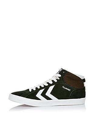 Hummel Sneaker Game Mid (dunkelgrün)